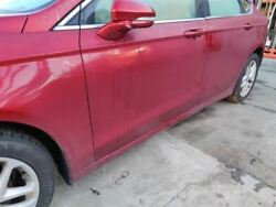 Red Driver Fr Door W/o Acoustic Glass Pw Pl Pm 000 Fits 2014 Ford Fusion Oem