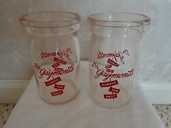 Dr. Gaymontand039s Cottage Cheese/sour Cream Dairy Collectible Jar 1528