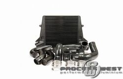 Process West Stage 2 Intercooler Kit For Ford Falcon Fg-blackpwfgic02b