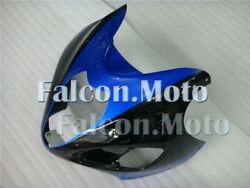New Blue Black Front Nose Cowl Upper Fairing Fit For 1997-2007 Gsx-r 1300r Aam
