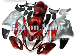 Pearl Red Silver Full Injection Plastic Fairing Fit For 2008-2018 Gsx-r 1300 Adr