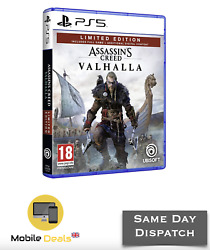 Brand New Assassins Creed Valhalla Ps5 Limited Edition Free Uk Pandp
