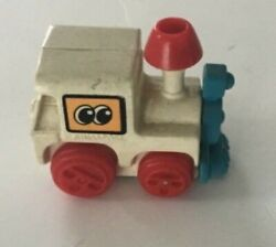 """Tomy Locomotive Wind Up Train 1 1/2"""" Collectible Goes Forward And Around"""