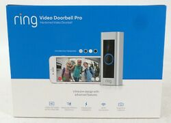 Ring Video Doorbell Pro With Motion Detection Hd Video And 2 Way Talk 8vr1p6-0en