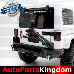 Rear Bumper+tire Carrier Tailgate Linkage+led Mount Fit 07-17 Jeep Wrangler