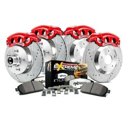 For Ford F-150 Heritage 04 Brake Kit Power Stop 1-click Extreme Z36 Truck And Tow