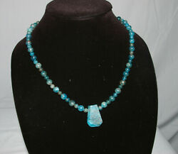 Guidance - Handcrafted Apatite Necklace 2020ar00203