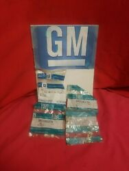 Nos Gm Side Body Molding Clips 13 Qty 20363726