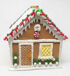 Byers' Choice Kindle Cottage Gingerbread House Christmas - Note