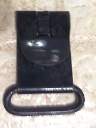Web Swedish M-96 M-38 Mauser Rifle Sling Hook Clip 1-7/16 May Fit Others Blued