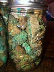 ⭐️aaa⭐️2 Mason Jars By Turquoise Kings Maisel/bell Mix. Only The Best