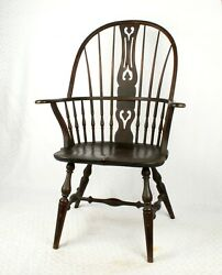 Vintage Wood Windsor Arm Chair By Buffalo Ny Sikes Chair Company Pick Up Only