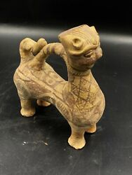 Old Ancient Antique Terracotta Clay Ghaznavid Dynasty Animal Figure Toy