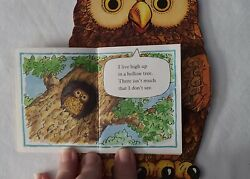 Vintage Childrens Book Owlandrsquos Story By Richard Fowler 1985