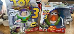 Toy Story 3 Mr Potato Head And Buzz Lightyear Deluxe Talking Posable Figure