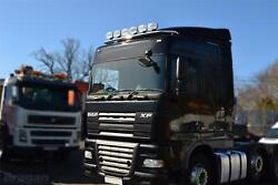 Roof Light Bar + Spots + Air Horns + Beacons For Daf Xf 95 Space Truck Stainless
