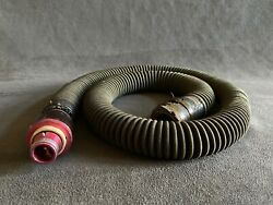 Usaf Aviation Pilot Oxygen Mask Hose With Quick Disconnect Fitting
