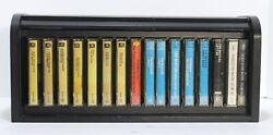 Beatles Collection – 16 Near Mint Cassettes In Wooden Roll Top Box Set Lot