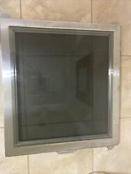 Door Tempered Glass Pwrwith Removable Window Steris P117906-722