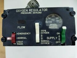 P/n 29255-6b-a1 Oxygen Regulator Automatic Diluter-demand Pressure Breathing