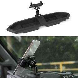 Car Mount For Cell Phone Holder Gps Storage Organizers Tray For Jeep Jl 2018+