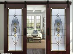 Stained Glass Doors Pocket Barn Or Hinge Style
