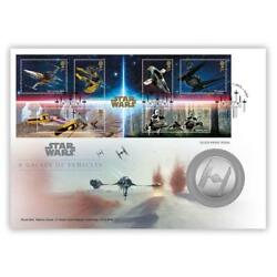 Star Wars A Galaxy Of Vehicles Silver Medal Cover Limited Edition