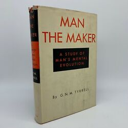 1952 Man The Maker Study Manand039s Mental Evolution Tyrrell Occult First Edition