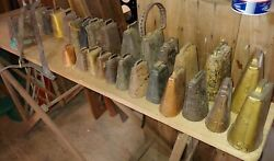 27 Antique Cow Goat Or Animal Bells