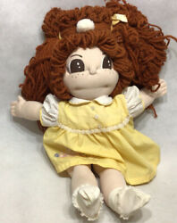 Handmade Cabbage Patch Style Doll Big Brown Hair 22andrdquo. K6