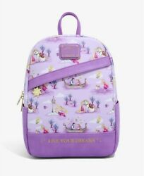 Loungefly Disney Tangled Live Your Dreams Mini Backpack - New