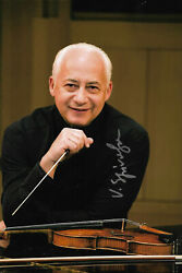 Vladimir Spivakov Signed 8x12 Inch Photo Autograph