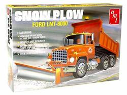 Amt Ford Lnt-8000 Snow Plow 125 Scale Model Kit Toy Gift For Boys 12+