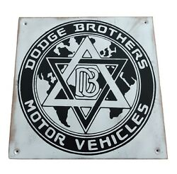 Dodge Brothers Motor Vehicles Wooden Sign