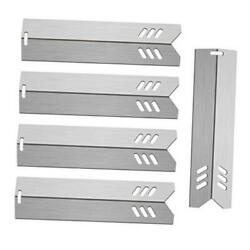 15 Bbq Gas Grill Heat Plate Shield, Stainless Steel Grill Burner Cover Heat