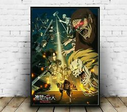Attack On Titan Final Season 4 Poster Poster For Gift Home Decor Style