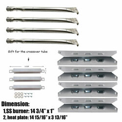 Gas Grill Replacement Parts Burner Heat Plates Repair Kit For Bbq Pro Kenmore