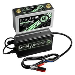 Braille Battery B169lc Super Lithium 16v Battery W Rapid Charger