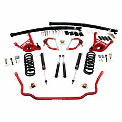 For Chevy Camaro 70-81 2 X 2 Stage 3 Front And Rear Handling Lowering Kit