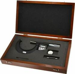 Starrett 2 To 3 Micro-lapped Carbide Standard Electronic Outside Micrometer ...