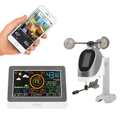 C79790 La Crosse Technology WiFi AccuWeather Color Weather Station Refurbished