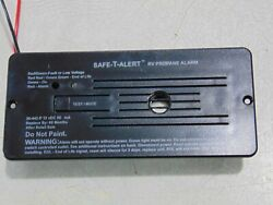 Safe T Alert 30 442 P Black Flush Mount Propane LP Gas Alarm