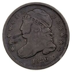 1839 Bust Dime Fine Condition Toned On Both Sides Strong Detail For Grade