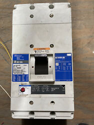 Cutler Hammer Nd312t36w 3p 1200a 600v Breaker W/1200a Rating Plug +aux
