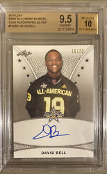 2019 Leaf Army Aa David Bell Silver Tour Auto /20 Bgs 9.5 Gm Mt