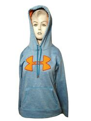 Under Armour Cold Gear Women Small Hooded Fleece Athletic Sweatshirtn1