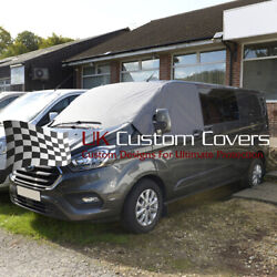 Ford Transit Tourneo 2013 On Windscreen Screen Curtain Wrap Cover 316 Grey