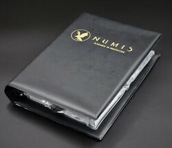 Numis Coin Collecting Album Fits 16 Slabs Cases Holders