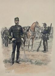 Edouard Detaille 1848-1912 Soldiers Print Multiple Set Of 4