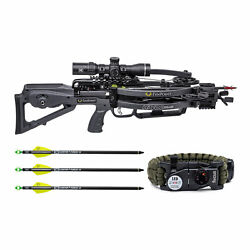 Tenpoint Havoc Rs440 440 Fps Acuslide Crossbow Package Graphite With Bracelet